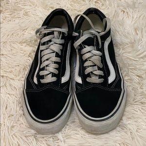 Vans Old Skool Black & White Authentic Shoes